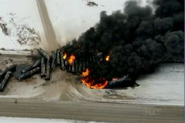 Canadian Derailment Probe Shows No Operator Error