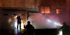 New Jersey Factory Fire Quickly Escalates to Three Alarms