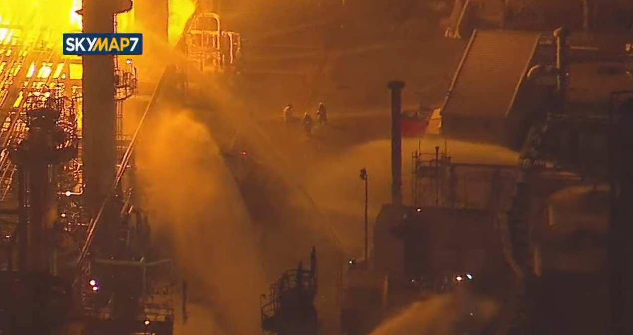 Workplace Safety Probe Launched After California Refinery Fire