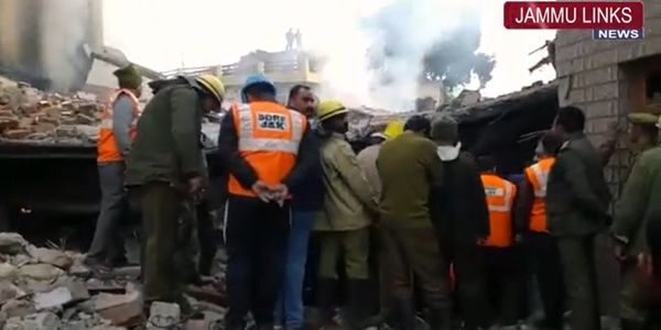 A team from the National Disaster Response Force joined the ongoing rescue mission.