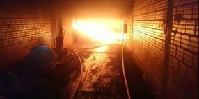 Organic Products Plant Burns in Paraguay