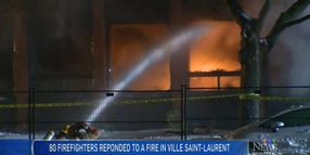 Canadian Plastics Factory Fire Forces Power Outage