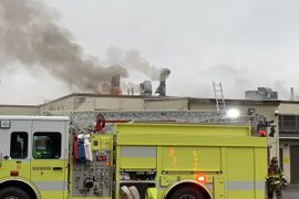 Gun Factory Catches Fire in Connecticut
