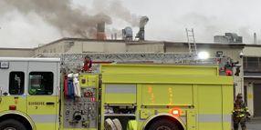Gun Factory Catches Fire in Connecticut