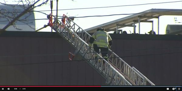 Fire broke out at a food processing plant in Norwood, Massachusetts, Friday morning.