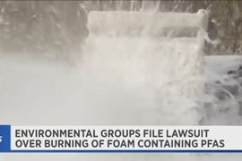 Lawsuit Challenges DOD's Fire Foam Disposal in New York State