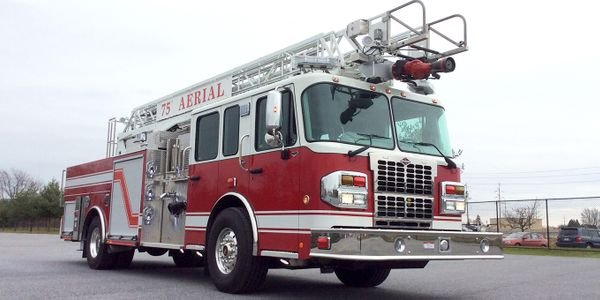 Spartan's 75-foot rear-mount aerial truck