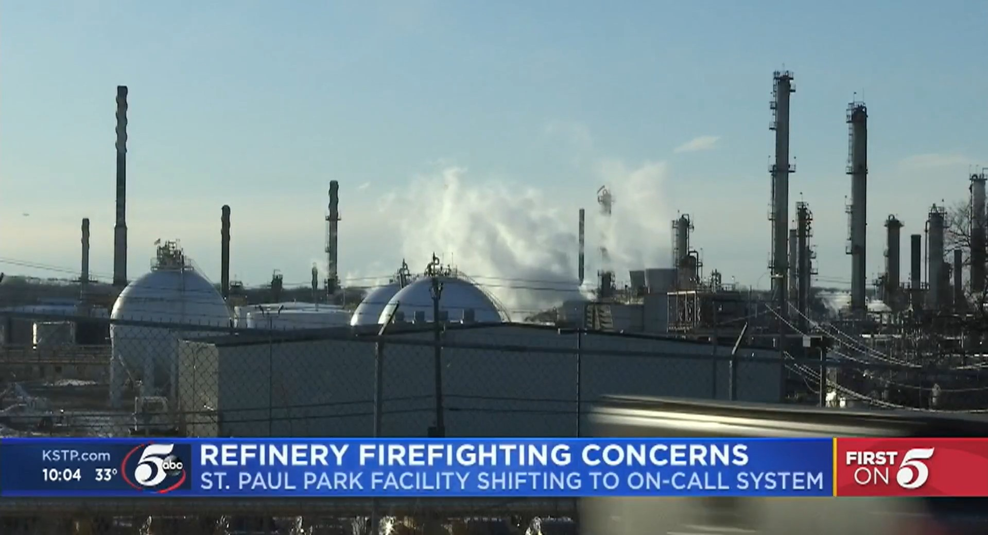 Minnesota Refinery Transitions to Staff Fire Brigade