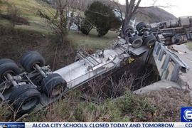 Hazmat Cargo Removed From Overturned Tanker in Kentucky