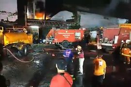 Warehouse Fire Hits Car Paint Maker in Thailand