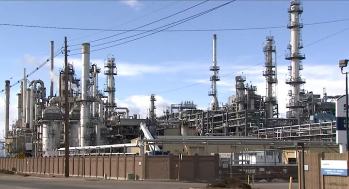 Release of catalyst to the atmosphere continues to plauge Colorado refinery. - Screencapture Via Fox31