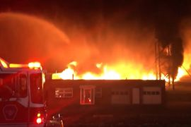 Magnesium Fire Burns Hot at Connecticut Foundry