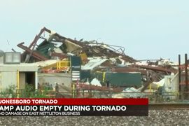 Tornado Levels Dust Collector Factory in Arkansas