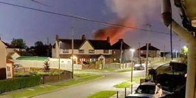 UK Power Plant Steam Release Mistaken for Fire