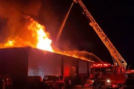 California Leather Factory Damaged by Midnight Fire