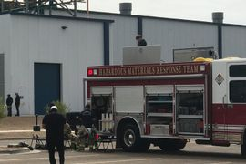 Texas Hazmat Team Secures Warehouse Ammonia Leak