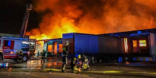 Nearly 300 firefighters were involved in extinguishing a paper mill that burned in Austria in...