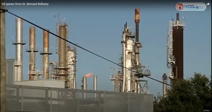 Valero purchased the former Murphy Oil refinery in 2011. - Screencapture Via WDSU