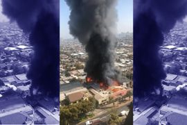 Plastics Plant in Chile Consumed by Flames