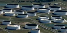 Full Capacity Crude Storage Means Maximum Fire Risk