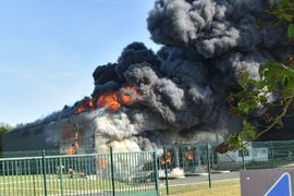 Pork Packing Plant in France Burns to the Ground