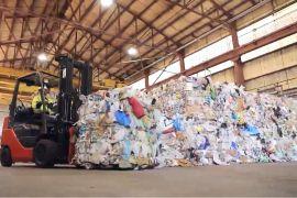 Conveyor Belt Fire Threatens Indiana Recycling Plant