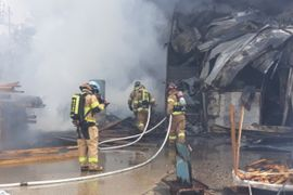 South Korean Recycling Fire Spreads to Factory Next Door