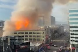 Downtown Explosion Puts Four L.A. Firefighters in Burn ICU