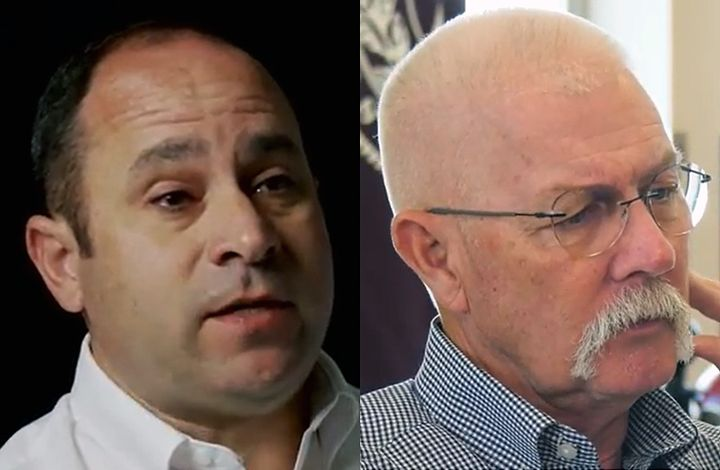Gordon Lohmeyer (left) and Robert Moore - Screencapture Via YouTube