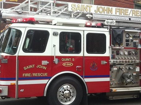 - Photo Courtesy of Saint John Fire Department