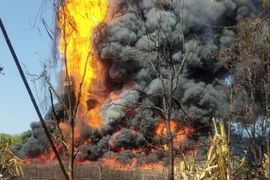 Fresh Fire Breaks Out in India After May Gas Blowout