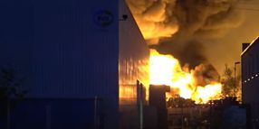 Recycling Plant Fire in Germany Spreads to Nearby Factory