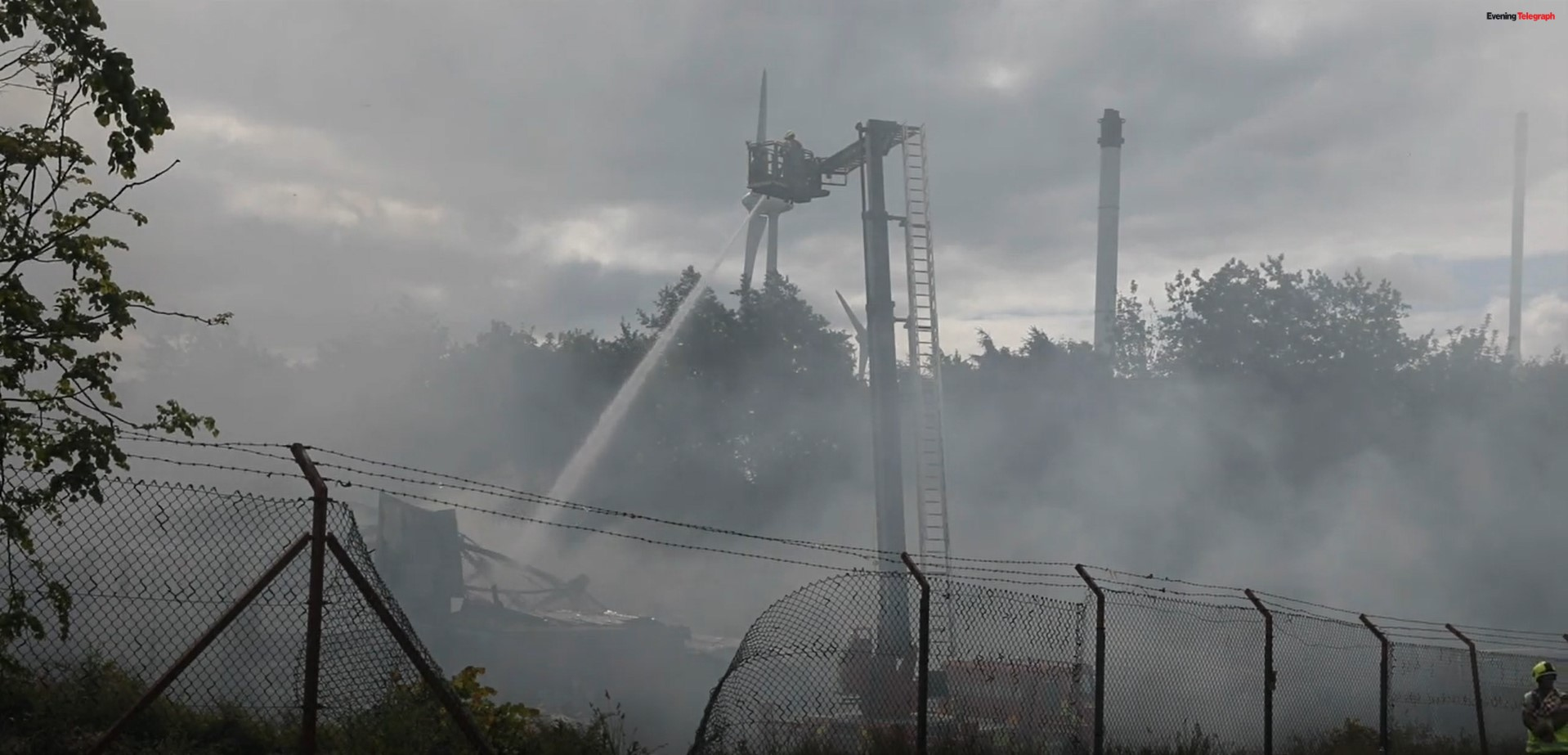 Police Investigate Fire That Destroyed Scottish Factory