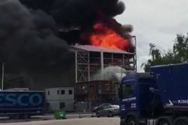 3 Injured in Explosion, Fire at UK Processing Plant
