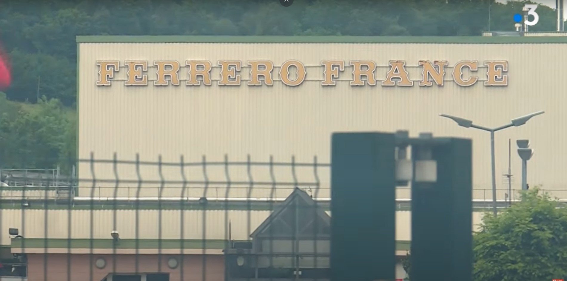 Workers Evacuate Confectionery Plant Fire in France