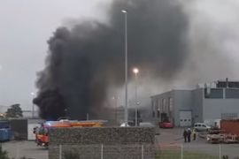 Generator Fire Reported at French Electrical Factory