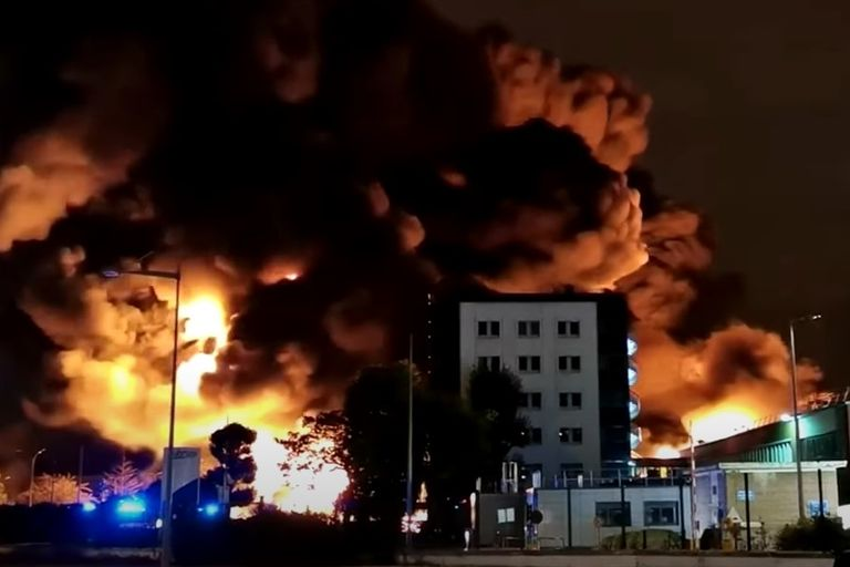A massive fire in September destroyed more than 9,500 tons of chemicals.