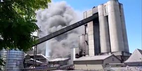 Solvent Used to Fuel Kiln Ignites at French Cement Plant