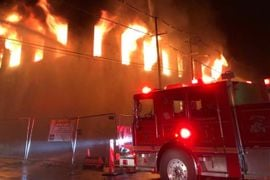 2-Alarm Warehouse Fire Reported in Kentucky