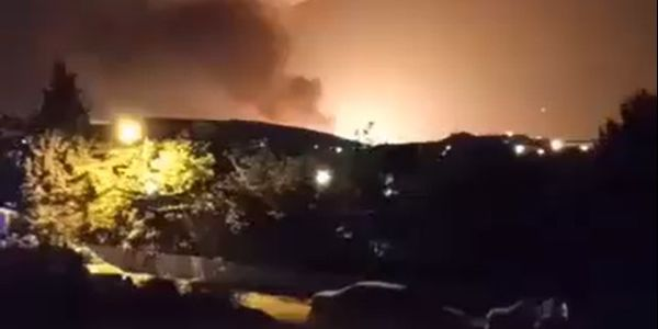 Explosion near Tehran Friday linked to munitions plant nearby.