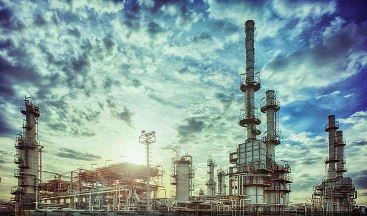 A fire at the Tehran Oil Refinery Company Wednesday left one worker dead and one injured. - Photo Courtesy of Tehran Oil Refinery Company