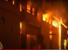 September 2012 factory fire in Karachi, Pakistan, killed 258 workers.