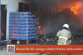 Fire Breaks Out at Styrofoam Plant in Northwestern Turkey