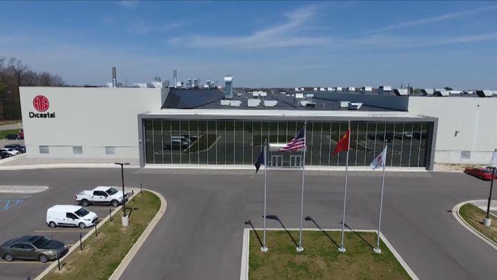 Dicastal North America located in Greenville, Michigan. - Screencapture Via Vimeo