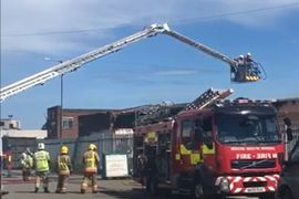 UK Manufacturing Plant Sustains Significant Fire Damage