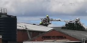 Roof Fire Disrupts Production at U.K. Dyeing Factory