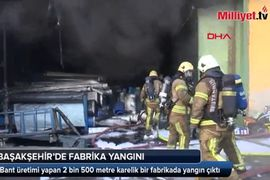 Plastics Feed Fire at Turkish Conveyor Belt Factory