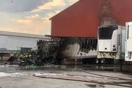 Refrigerated Trailer Burns at Pennsylvania Egg Plant