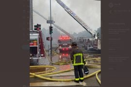 Six Buildings Damaged or Destroyed in San Francisco Fire