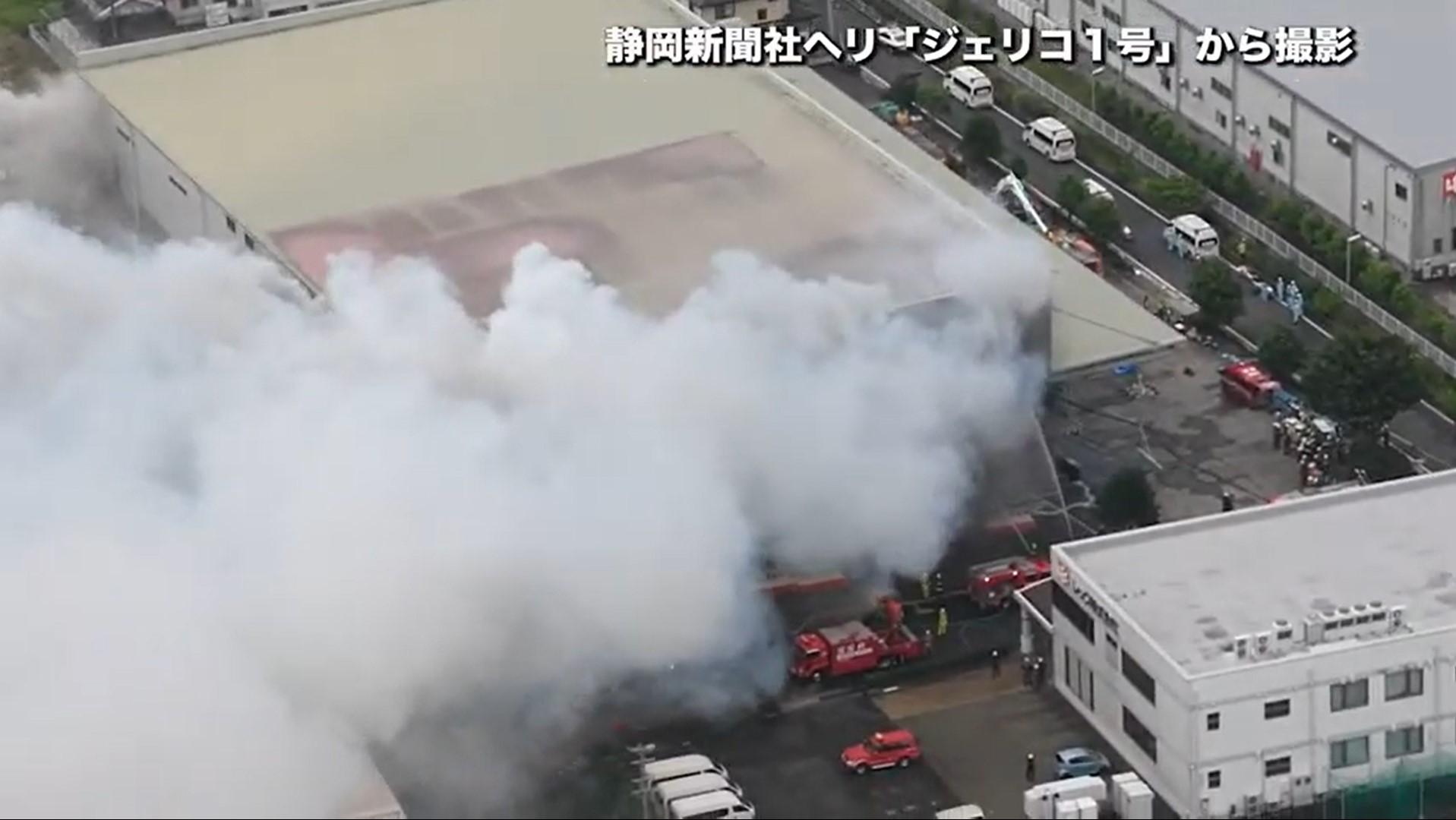 4 Emergency Responders Missing in Japanese Warehouse Fire